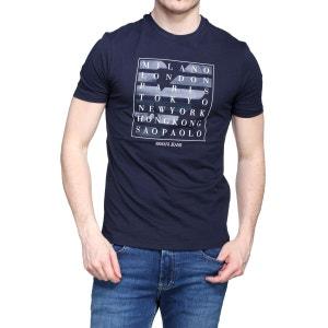T Shirt Armani Jeans 3y6t21 - 6j00z 1579 Blu Notte ARMANI JEANS