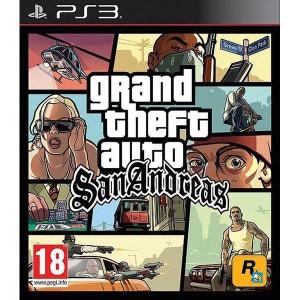 Grand Theft Auto : San Andreas PS3 ROCKSTAR GAMES