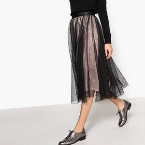Plain Long Skater Skirt MADEMOISELLE R