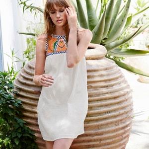 Sukienka bez rękawów z gorsetem La Redoute Collections