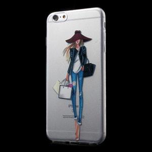 Coque souple La Parisienne fait son Shopping pour iPhone 6/6S AMAHOUSSE