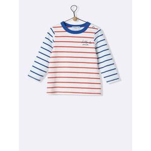 Tee-shirt bébé marinière CYRILLUS