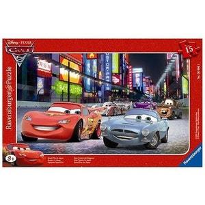 Puzzle cadre - 15 pièces - Cars 2 : Grand Prix du Japon RAVENSBURGER