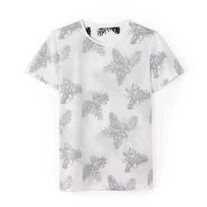 T-Shirt mit Aufdruck, runder Ausschnitt, reine Baumwolle R édition