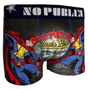 Boxer Coton Enfant Super Hero NO PUBLIK