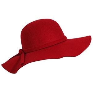 Chapeau capeline rouge Ania CHAPEAU-TENDANCE