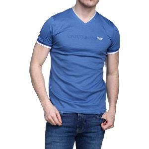 T Shirt Armani Jeans 3y6t30 - 6jprz 1535 Blu Avio ARMANI JEANS