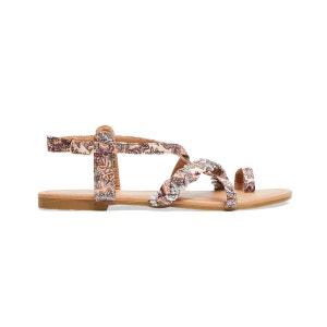 Sandales plates à brides ornées de strass Joe Browns Femme JOE BROWNS