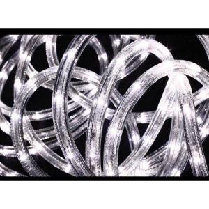 Guirlande lumineuse extérieur Tube LED 8 Fonctions 6 m Blanc FEERIE LIGHTS
