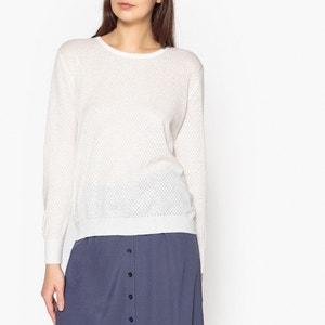 Olivera Fine Gauge Cashmere and Cotton Knit Jumper HARRIS WILSON