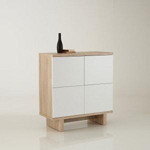 Talé 4-Door Small Cabinet La Redoute Interieurs