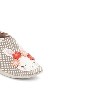 Zapatillas de casa de piel White Rabbit ROBEEZ