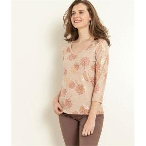 T-shirt imprimé motif floral GRAIN DE MALICE