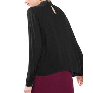 Langärmelige Bluse mit Stehkragen ESPRIT