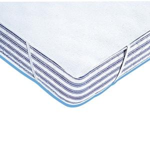 Protège-matelas molleton 400 g/m², enduit PVC imperméable REVERIE