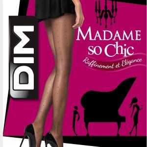 Collant Madame So Chic effet plumetis 15 Deniers DIM