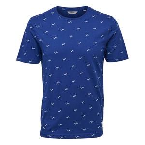 T-shirt z okrągłym dekoltem, wzór z przodu, Onssebastian ONLY & SONS