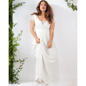 Vestido largo de boda CASTALUNA