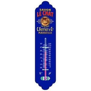Thermomètre déco Savon Le Chat CARTON STYLE