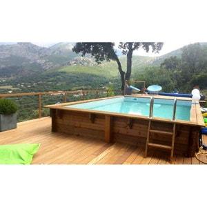 Piscine petite ou grande piscine gonflable hors sol - Petite piscine hors sol rectangulaire ...