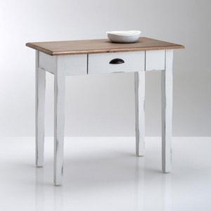 Mesa de cozinha em pinho maciço, 1 a 2 pessoas, Roside La Redoute Interieurs