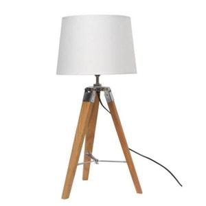 lampe a poser pied bois