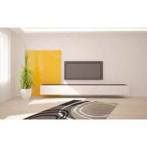Tapis de salon design beige Aqua DELADECO