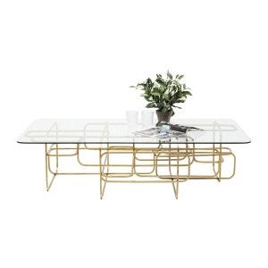 Table basse Meander dorée 140x80cm Kare Design KARE DESIGN