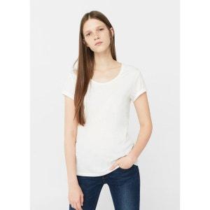 T-shirt coton biologique MANGO