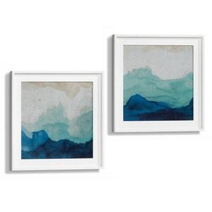 Toile aquarelle motif 1 Bandow AM.PM.