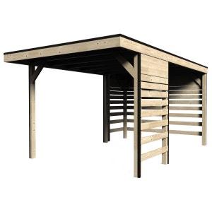 Carport en bois massif - 13 m² DECOR ET JARDIN