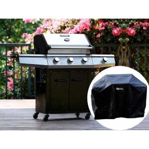 """Barbecue Gaz """"Bingo 4"""" - 4 brûleurs dont 1 latéral - 14kW + Housse protection H&j habitat et jardin"""