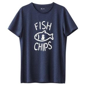 T-shirt col rond imprimé R Edition