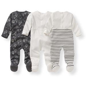Confezione da 3 pigiama fantasia in cotone - Oeko Tex La Redoute Collections