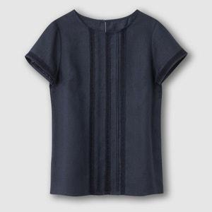 Blusa de mangas curtas R essentiel R essentiel
