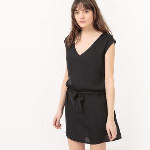Korte effen jurk zonder mouwen KAPORAL 5