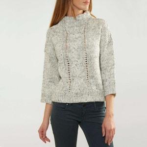 Sweter ze stójką z cienkiej dzianiny VERO MODA