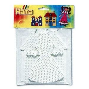 Plaques pour perles à repasser Hama Midi : Princesse/Maison HAMA
