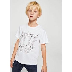 T-shirt imprimé ville MANGO KIDS