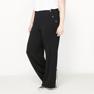 Pantalon large effet pont CASTALUNA
