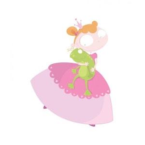 Sticker chambre Fille : Princesse et Crapaud DECOLOOPIO