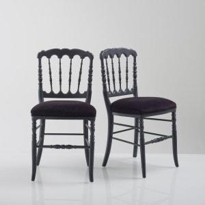 Chaise, style Napoléon III (lot de 2), Lipstick La Redoute Interieurs
