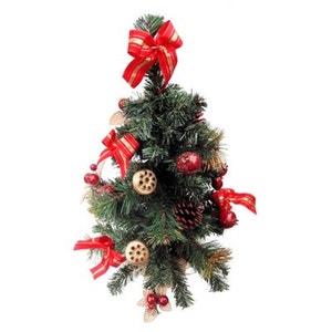 Sapin de Noël artificiel - Avec décoration rouge et doré ! NONAME