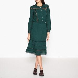 Платье с ажурными деталями RACINE LEON and HARPER