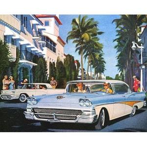 Cadre en toile Rectangulaire Thunderbird Riviera INCIDENCE