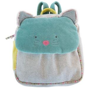Sac à dos chat bleu Les Pachats 660070 MOULIN ROTY
