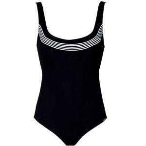 Maillot de bain une pièce Charmeline PURE BREEZE black white 110 D CHARMLINE