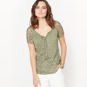 Crinkle Jersey T-Shirt ANNE WEYBURN