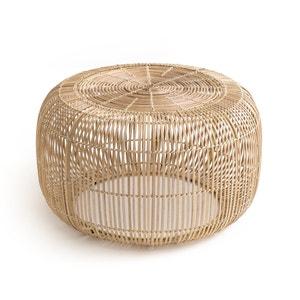 Mesa baja redonda de bambú BANGOR