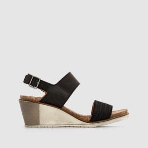 Sandálias em pele com tacão de cunha P-L-D-M-BY PALLADIUM Sheldon VGT P-L-D-M-BY PALLADIUM